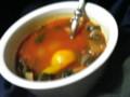 ぐへへ 真っ赤なスープや