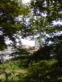 仙台の西公園から見た仙台の街です。