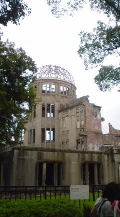 原爆ドームなう。