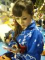 松山祭り二日目。相変わらず私の化粧は濃い