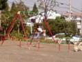 今日は娘と「クワガタ公園」なう