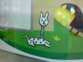 ロールちゃんの亜種。首がながーいよ @ 南北線飯田橋駅