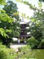 法起寺(Houki-ji Temple):三重搭
