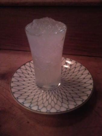 一ノ蔵凍結酒なう。やばい!