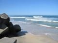 これは14日に行った海。きれいだったよ!お盆休みはあっという間だっ