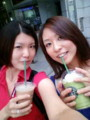 Drinking Starbucks as Seattle style w/Keiko-chan?