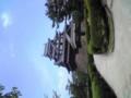 松江城。今日は暑すぎる・・・