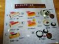 愛知の実家近くの喫茶店のモーニングセットです。250円〜300円位で選ん