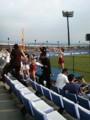 早稲田大学応援団 慶応の応援席になぜか早稲田の応援団が こういうの