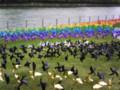 虹の風車 中之島先端にて