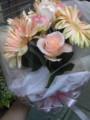かわいい。やっぱ花屋にバイトかえよう。今日はテンパリすぎて行動が