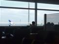 ANAラウンジ。これから九州に向かうのだ