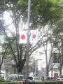 国旗エンカウント率の高い日 国際会議とかやってたっけか?