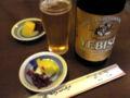 背徳の昼ビール。