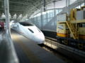 リレーつばめなう。写真は新幹線つばめ。