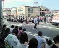 地元のお祭り。云年前私もこうやってパレードしてたのか(´_`●)