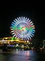 a Ferris wheel in Chatan(Okinawa) :)