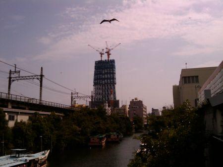第2東京タワー。こんなにできてるってしらなかった!