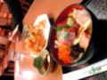 墓参りも終了。富士川ICで海鮮丼&桜えびなう。