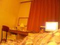 ホテル 今ホテルで風呂上がり。衝動的に楽天で予約しちゃいました。