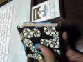 本日のフリマでゲトしたメモ帳。千代紙を張ってあります。