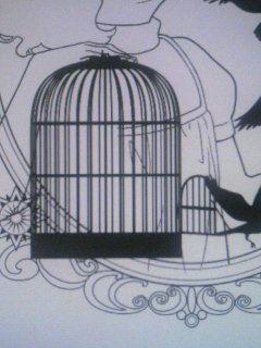 鳥かごできた  つかれたー