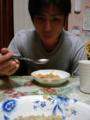 キッチリ仕上げました。弟と、〆はオマール海老の味噌と内子のアメリ