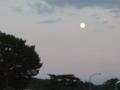 今日、中秋の名月…だっけ?