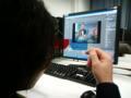 ストーリーマーケティングゼミが取組んでいる3D立体視のデモ映像を