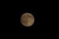デジカメで名月を撮ってみました