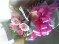前に送った花