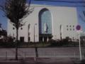 久々にここまできたよ。玉造の教会。