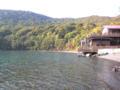 中禅寺湖、ここでシュラスコしたーい。