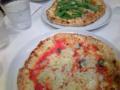 錦糸町楽天地のトムトムの釜焼きのマルゲリータとルッコラのピッツア