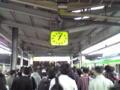 @品川 朝の通勤ラッシュと変わらない風景。違うのは時間と到着ホー