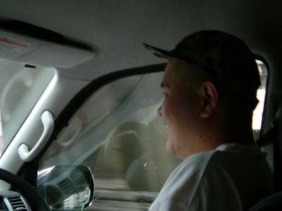 CBMD号福岡行きドライブ、先発はゴローちゃん。中央道からのチャレン