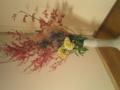 [今週の花]梅もどき、深山竜胆、石化鶏頭、すすき、七竈。お花屋さんでもすすき