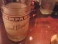 コーディアルカンパリ(終売した白カンパリ)、最後の一杯。もうこの