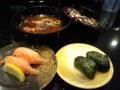ぼちぼち旨いし、京都よりずっと安いが、金沢の回転寿司屋の時ほどの