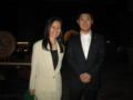 中学のとき学級委員長だった野村さんです。
