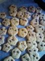 5歳の二女がつくったクッキー。名付けて「ポニョのいもうと」