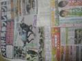 今帰宅しました。写真はWINSで限定配布してた菊花賞直前エイト。イケ