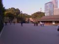江戸城なう
