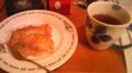 相棒が終わったので、apple pieを食べようと思います。  #FOOD