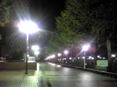 結局チャリコ取りに新宿まで歩いたっていう。うん。楽しい楽しい。大