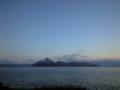 洞爺湖温泉。良い朝すなあ。