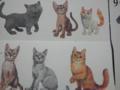 [むー写]こういうロックウェルっぽいネコ絵好き。みょーな媚びや 甘えがない