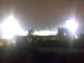 ガンバスタジアムに 来ています!というのは嘘でベランダから試合が