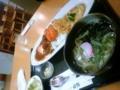 晩ご飯〜。