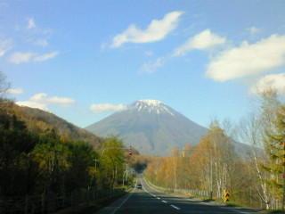 蝦夷富士 羊蹄山です。